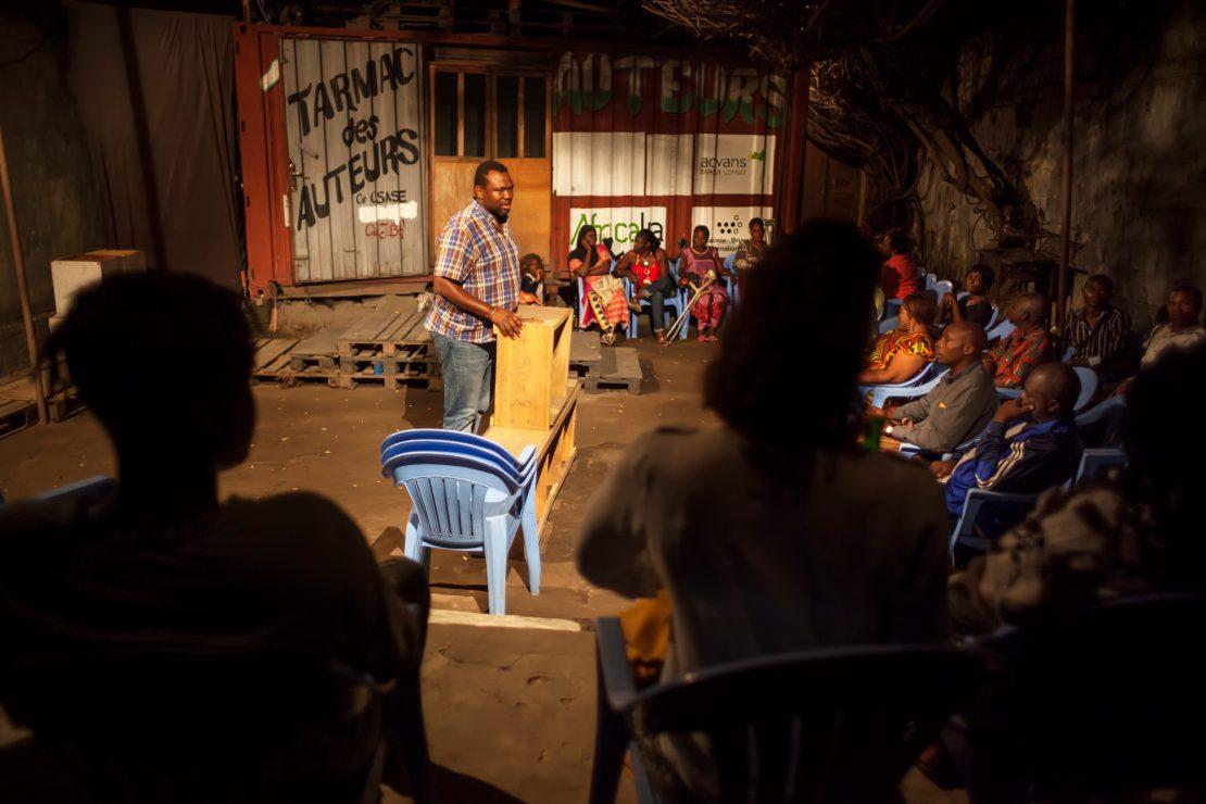 Teatro en el Congo: no solo para ricos