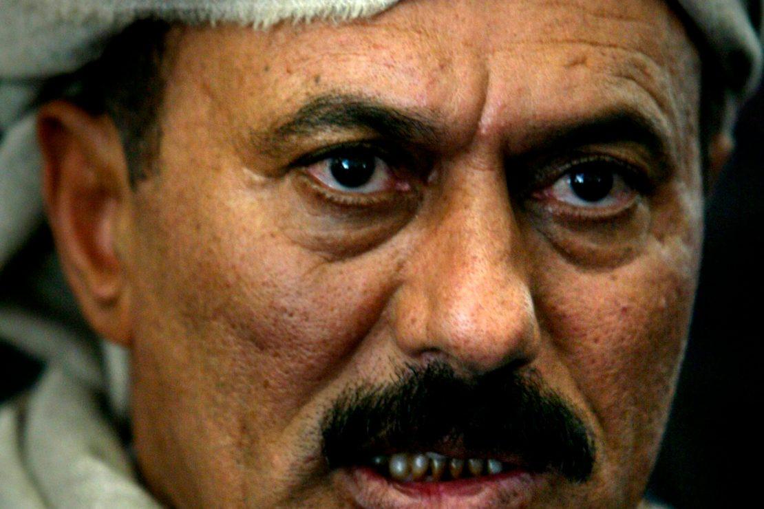 Saleh y el poder