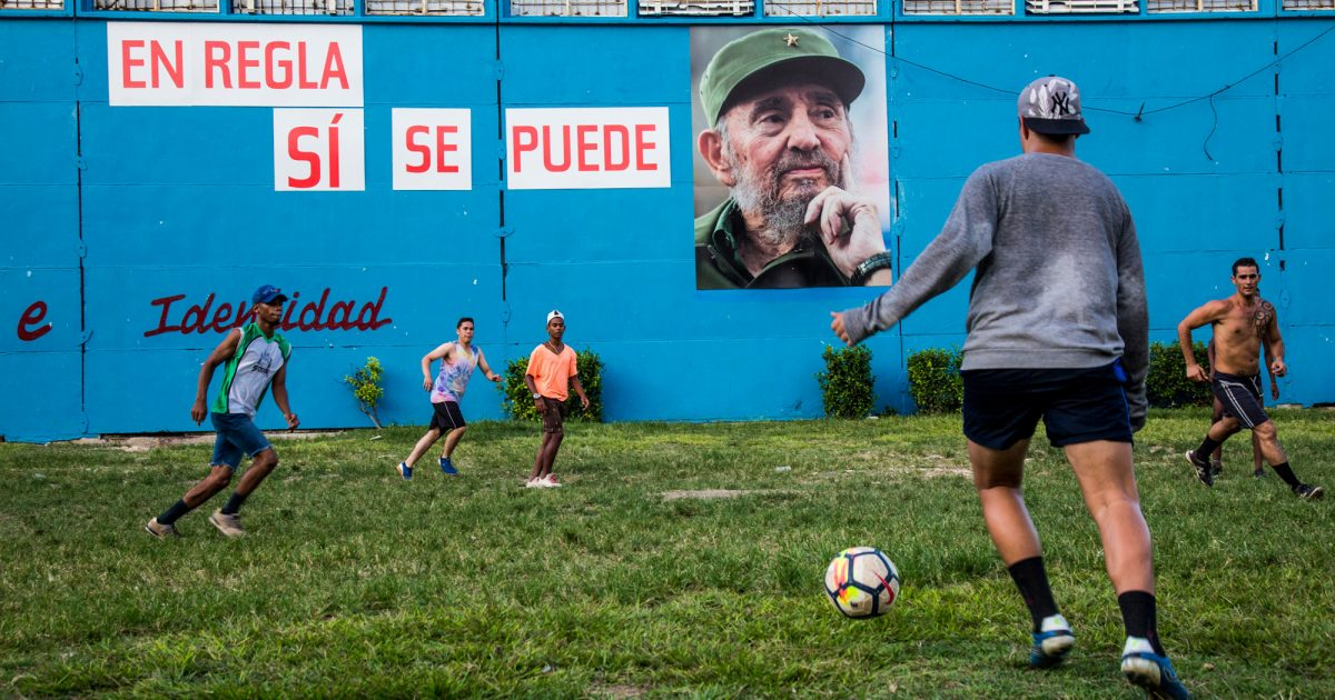 La Fiebre Del Fútbol En Cuba