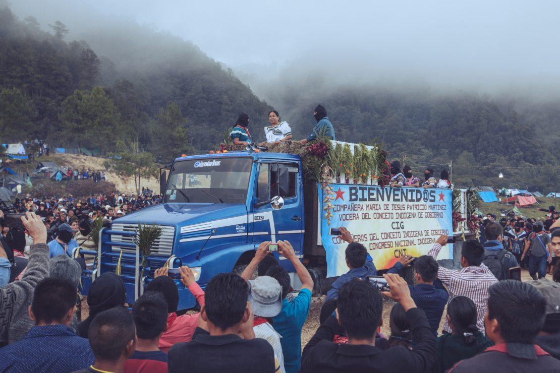 Marichuy, la candidata indígena