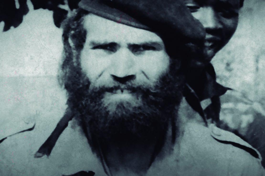 El comandante con el que Kapuscinski se fue al frente