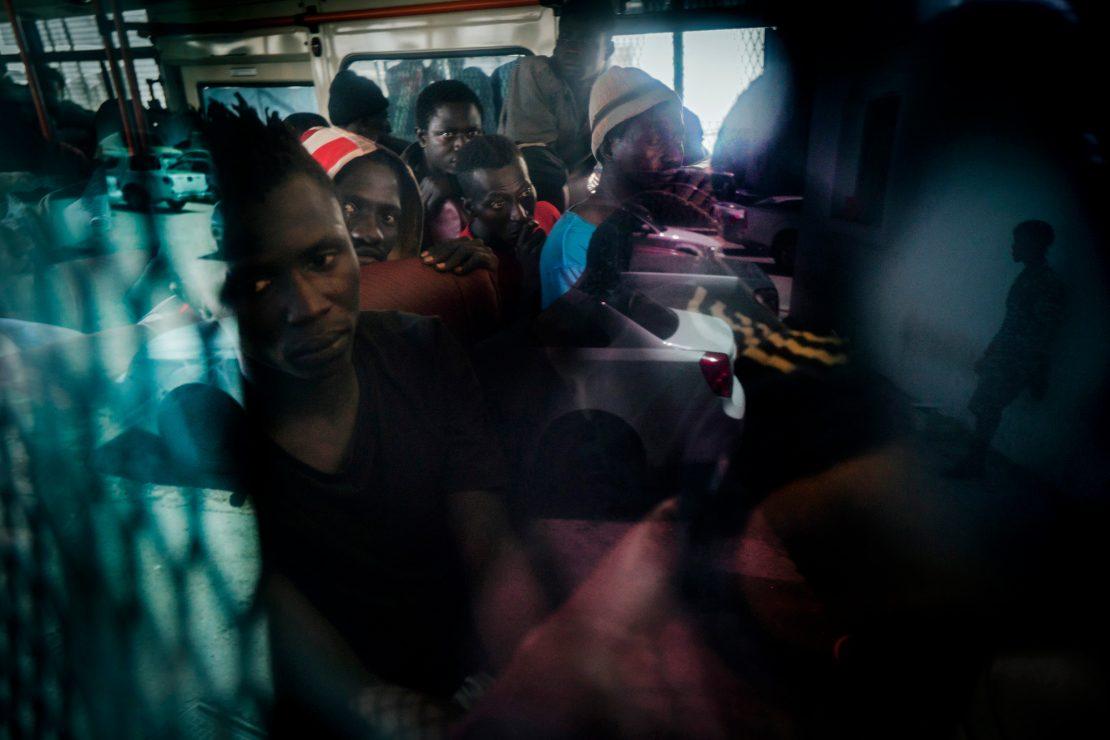Libia: redadas, traficantes y sueños
