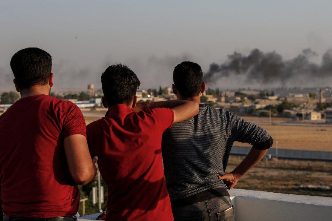 Ataque turco sobre el Kurdistán sirio