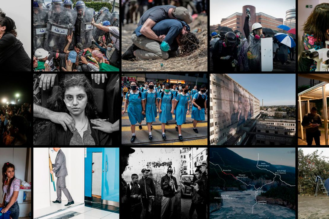 Las protestas, la guerra y el medio ambiente dominan el World Press Photo 2020