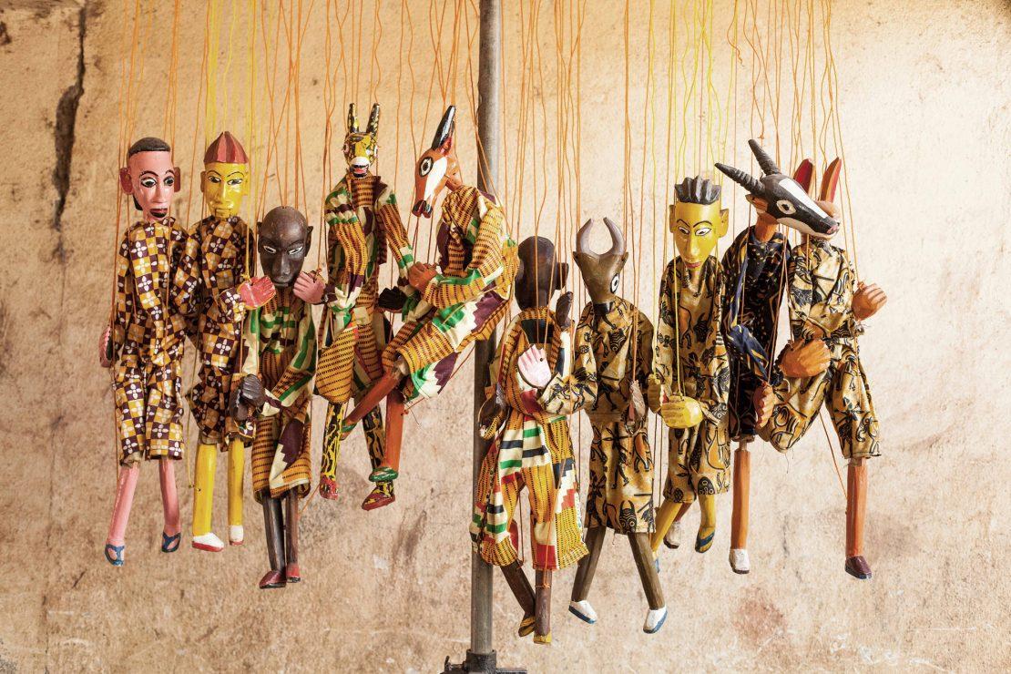 Mali: marionetas para entretener y luchar contra el poder