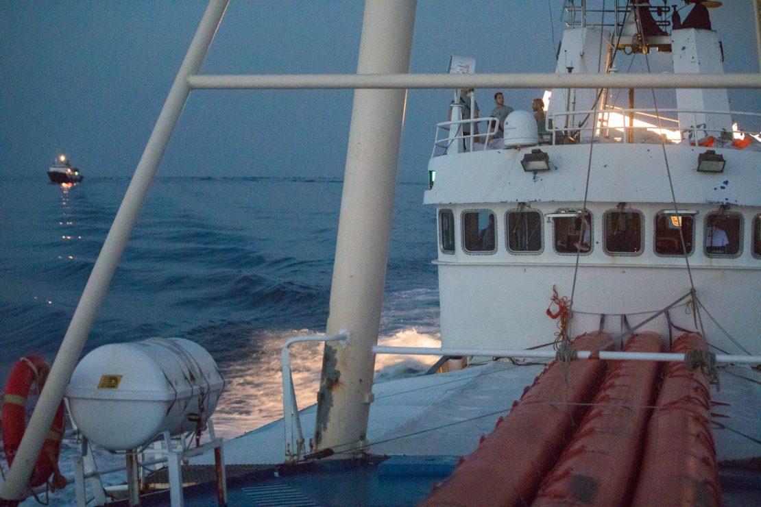 El barco xenófobo y el barco solidario