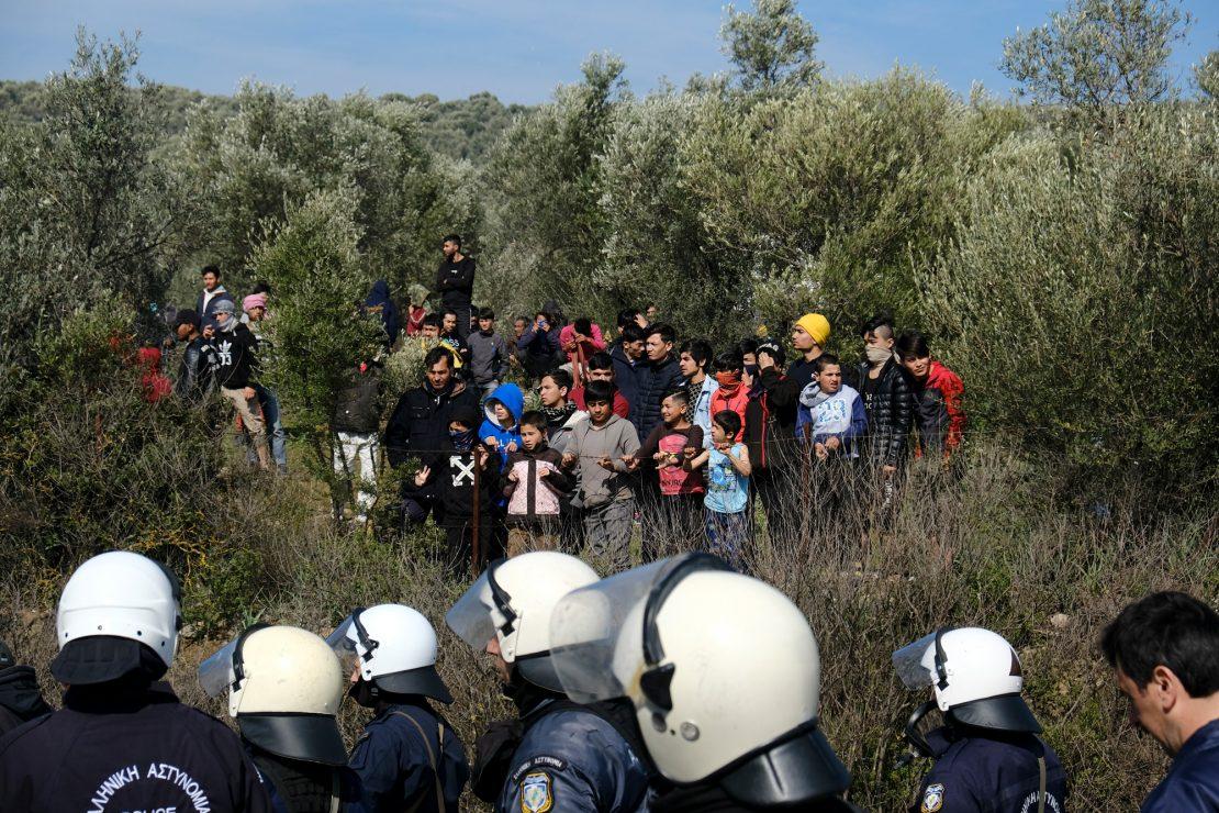 Miedo, hastío y desesperación en Lesbos