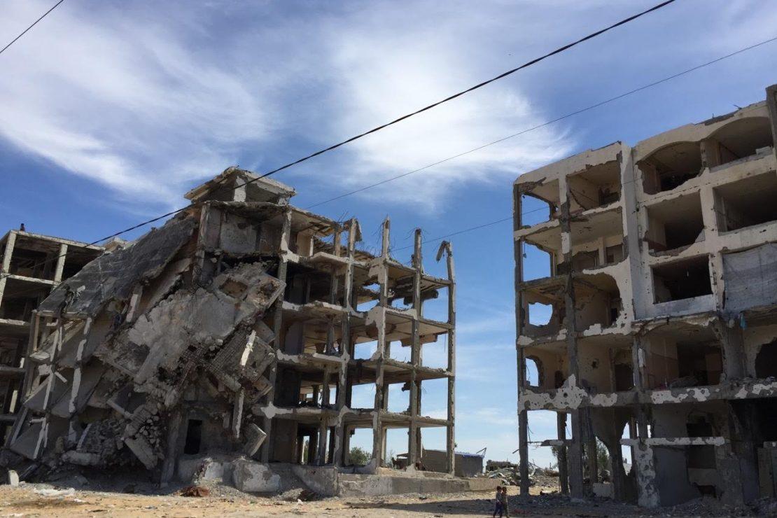 La carretera del alto el fuego en Gaza