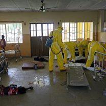 El ébola, visto a través de diez fotos de Samuel Aranda