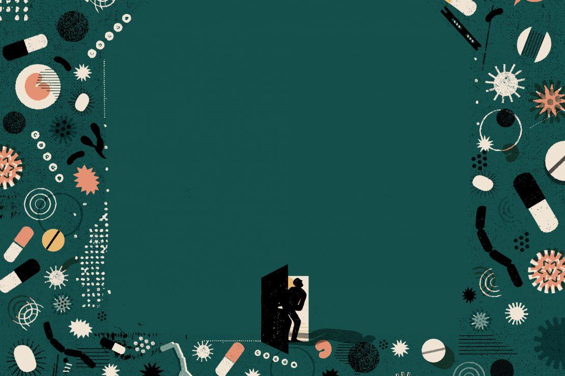 La ilustración imagina los laberintos de la salud