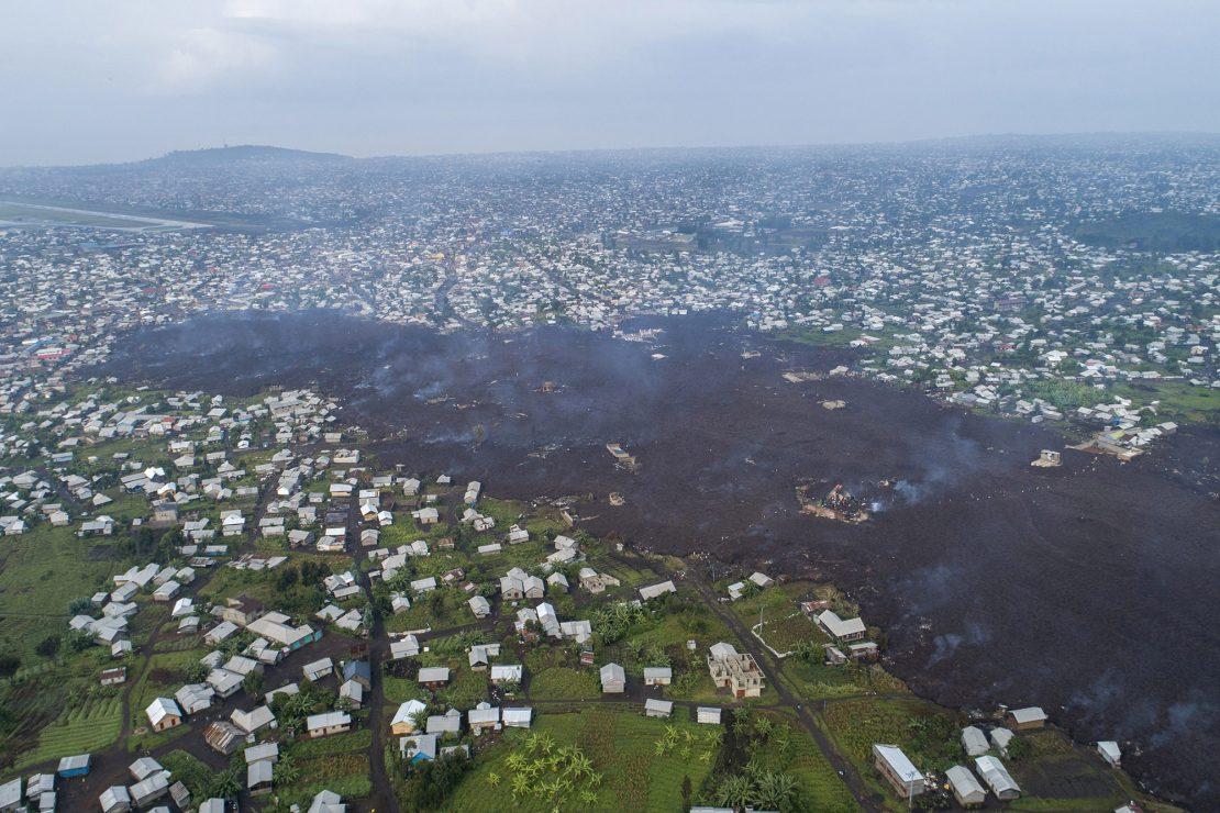 De la detención del periodista bielorruso Protasevich a la erupción volcánica en Congo