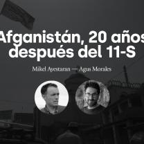 Charla online: Afganistán, veinte años después del 11-S